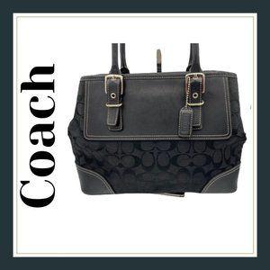 Coach Signature Carryall Hand bag 6366